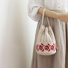 Knitted Bags, Knitting Stitches, Crochet Lace, Bucket Bag, Crocheting, Reusable Tote Bags, Tapestry, Purses, Products
