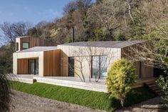 AR Design Studio was approached by the clients who were looking to extend their holiday home on a cliff top on the South Coast. Half way through the...