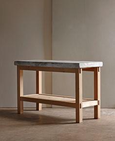marble prep tables — Lostine