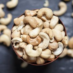 In the study, people who ate more nuts had lower levels of inflammatory markers in their blood than those who rarely ate nuts.