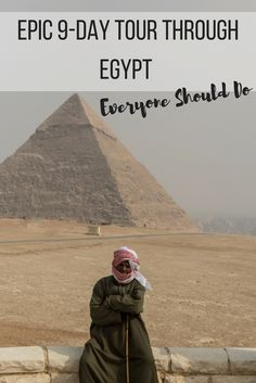 Want to know how to spend 9 days travelling around Egypt?  Read all about my experiences!