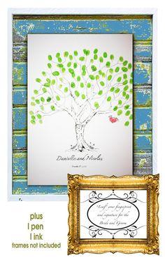 Wedding guests print