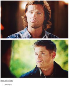 Like everyone on Supernatural can somehow do this face.