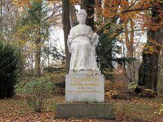 Statue of Empress Elisabeth in Starnberg.