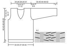 """Julien / DROPS Children 22-31 - DROPS bluse i """"Fabel"""" eller """"Flora"""" med snoninger og v-hals.  Str 3 - 12 år - Free pattern by DROPS Design"""