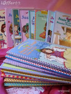 Junie B. Jones... I loved these as a kid!  When I find out I'm having a girl, I'm seriously going to buy all the Junie B. Jones books!!! :)