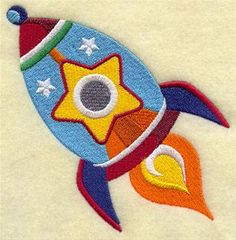 Machine Embroidery Designs at Embroidery Library! - Outer Space