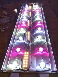 LED 54 watt beam build myself for my aquarium fish Aquarium Led, Led Aquarium Lighting, Planted Aquarium, Led Projects, Tank Design, Lava Lamp, Spectrum, Beams, Hobbies