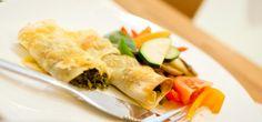 Tradisjonell, gresk vegetarmoussaka
