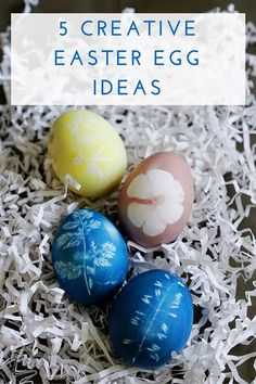 I know parents are on the lookout for easter basket filler ideas 5 creative and beautiful easter egg ideas negle Image collections