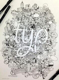 Interview With Kerby Rosanes And His Amazing Doodles