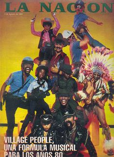Village People Can't Stop The Music Mustache Men, The Mind's Eye, Village People, Character Names, Musical, Art Blog, Good Times, Star Wars, Guys