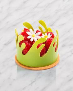 Individual Desserts, Small Desserts, Gourmet Desserts, Fancy Desserts, Plated Desserts, Delicious Desserts, Mini Cakes, Cupcake Cakes, Petit Cake