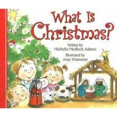 We will be reading this book to start our Christmas lessons off this year!