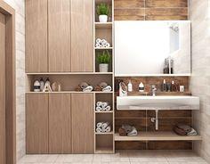 #classic #bathroom #wood #keros #identity