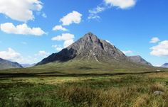 Glencoe, in Scotland - Highlands Scottish Mountains, Glencoe Scotland, Glen Coe, Scottish Highlands, Scotland Travel, Mount Everest, History, Nature, Scotland