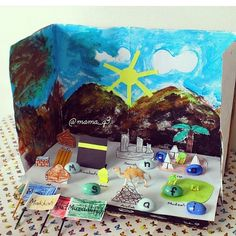 Find letters on Hajj and build words. Diorama Kids, Diy And Crafts, Crafts For Kids, Islam For Kids, Chore Chart Kids, Mekka, Art Worksheets, My Themes, Diy Projects To Try