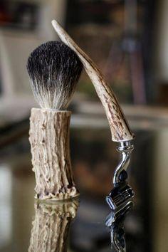 Brand Spankin New & Awesome: Antler Shaving Set #Gift Box. Made in #Kentucky on  BourbonandBoots.com