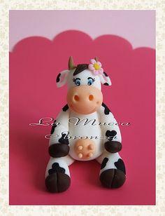 http://lamuccasbronza.blogspot.com  Sugar paste cow  La mucchina