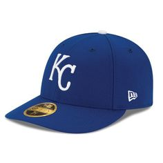 on sale 841ec 1fe40 Men s Kansas City Royals New Era Royal Game Authentic Collection On-Field  Low Profile 59FIFTY