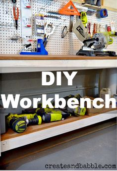 DIY Workbench by createandbabble.com