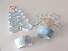 My Little Party Blog: DIY: Descargables Gratuitos Cupcakes de Navidad