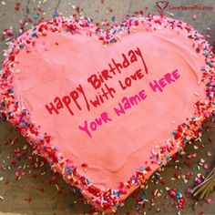 Create Best Online Birthday Cake Generator With Name Photo On Editing Options And Send Happy Wishes