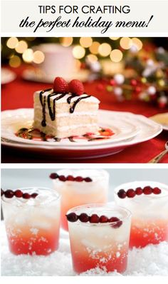 Tips for crafting the perfect holiday menu!