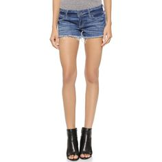 Siwy Camilla Cutoff Shorts (205 CAD) ❤ liked on Polyvore featuring shorts, come away with me, jean shorts, ripped denim shorts, distressed jean shorts, cutoff shorts and denim cut-off shorts