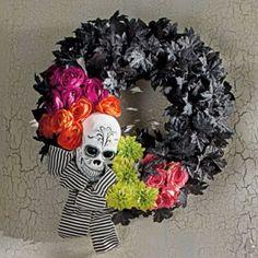 Day of the Dead Wreath - Grandin Road