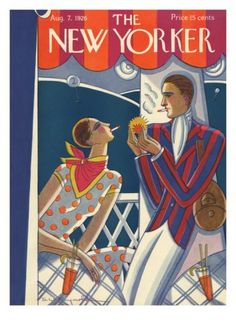 The New Yorker cover - AUGUST 7, 1926 By Stanley W. Reynolds.