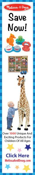 Melissa & Doug-Leading Designer of Education Toys!  Over 1,000 Unique & hard to find products for kids of all ages- Click Here: http://www.everythingkids.co