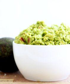 Homemade Five-Ingredient Guacamole