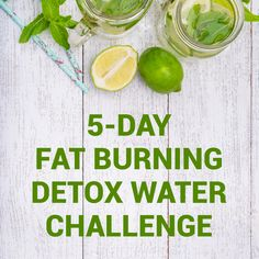 Day Fat Burning Detox Water Challenge Are you going to try this ultimate 5 days weight loss challenge?Are you going to try this ultimate 5 days weight loss challenge? Diet Food To Lose Weight, Detox Cleanse For Weight Loss, Lose Water Weight, Full Body Detox, Weight Loss Drinks, Cleanse Detox, Health Cleanse, Tips For Weight Loss, 5 Day Cleanse