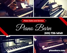 At Piano Barn, we listen and service is our top priority. That's not just talk. You'll be impressed! Our friendly and courteous sales staff is knowledgeable on all products and services offered. We want you to make the right choice, an informed choice, on the right piano for your family. We'll help. #ThePianoBarn