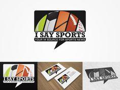 I Say Sports Logo design by Aesthetics