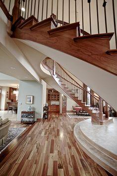 Stairs by Hunter's Fairway Sotheby's International Realty, via Flickr    Photo by Jonny Anderson  flickr.com/goldurndude
