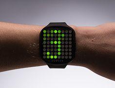 DIY LED watch