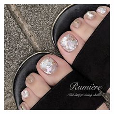 """Acquire excellent suggestions on """"nail paint ideas polish easy"""". They are offered for you on our site. Feet Nail Design, Toe Nail Designs, Feet Nails, My Nails, Toe Nail Art, Acrylic Nails, Heart Nail Art, Nail Decorations, Perfect Nails"""