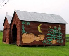 October Barn Location:  On Rt 11 just south of Mt. Crawford.  Rockingham Co - VA
