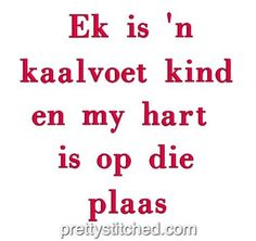 Kaalvoet Kind – Pretty Stitched