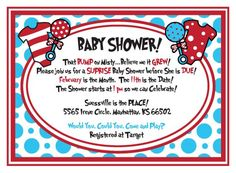 Baby Shower: Dr Seuss Baby Shower Invitations Printable Free Is The Masterpiece…