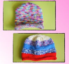 Looking for your next project? You're going to love Simply Stockinette Knitted Baby Hats by designer Keturah Ariel.