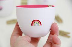 DIY Kawaii Tattooed Storage Bowls
