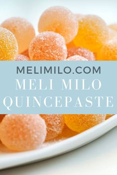 enjoy healthy food #quincepaste #healthyfood #foodpairing Quince Jelly, Healthy Food, Healthy Recipes, Peach, Candy, Health Foods, Sweet, Toffee, Healthy Nutrition