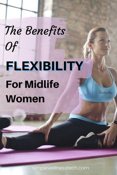 Flexibility is important for midlife women. Find out how flexibility can help you. Over 50 Fitness, Fitness Tips, Anti Aging Tips, Best Anti Aging, Ligaments And Tendons, Dynamic Stretching, Chest Muscles, Better Posture, Gym Classes