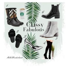 """""""Classic & Fabulous"""" by hugmyheart on Polyvore featuring Nika, Gianvito Rossi, Burberry, Jeffrey Campbell and Yves Saint Laurent"""