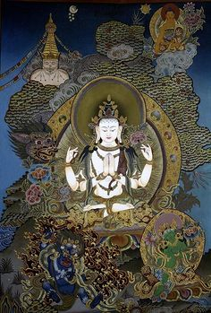 Chenrezig -- Avalokiteshvara, Embodiment-of-Compassion