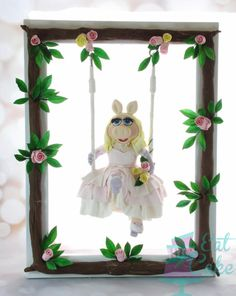 First Place Miss Piggy!! - Cake by Eat Cake