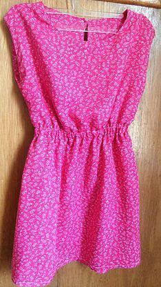 Tuto et patron couture gratuit robe fille en taille 3 ans ultra facile à coudre